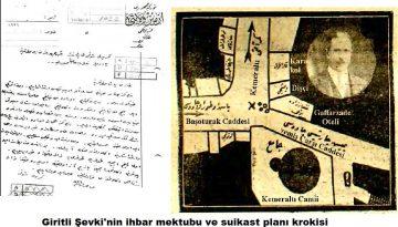İzmir İhbar Mektubu